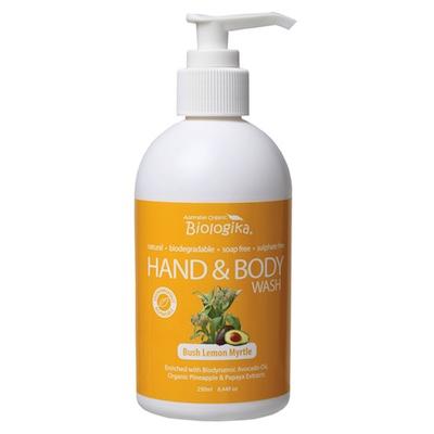 Bush Lemon Myrtle Hand & Body Wash (250ml)