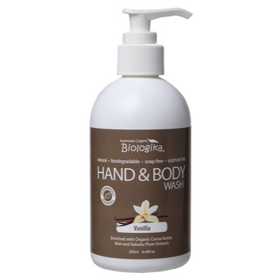 Vanilla Hand & Body Wash (250ml)