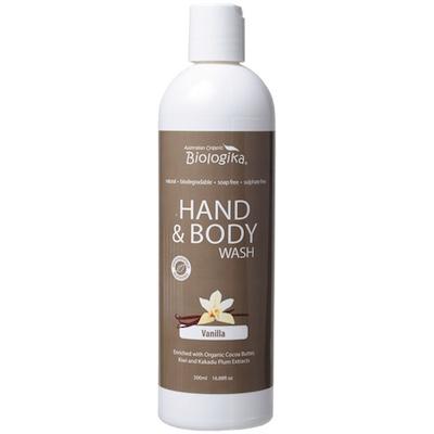Vanilla Hand & Body Wash (500ml)