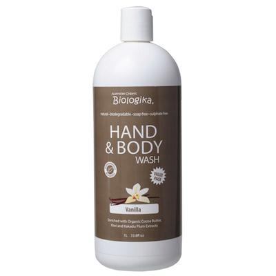 Vanilla Hand & Body Wash (1 litre)